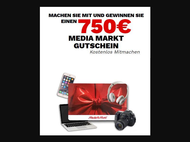 DE/CH - Media Markt €750 Voucher (DOI) [DE,CH] - DOI registration