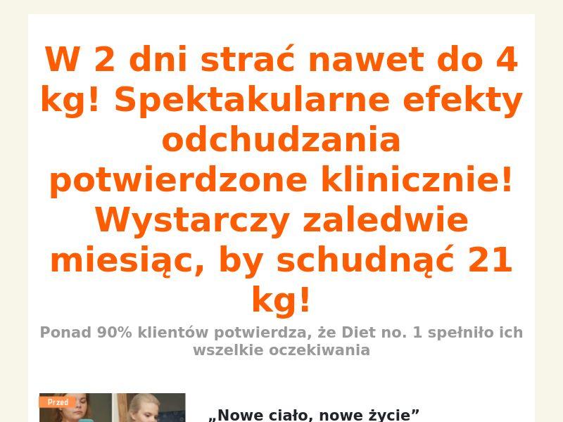 Diet № 1 - COD - [PL]
