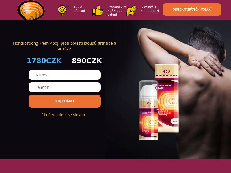 Hondrostrong CZ - arthritis product