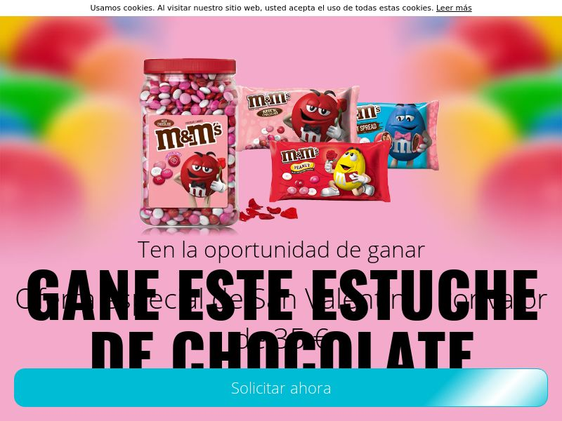 Pack M&M San Valentín - ES
