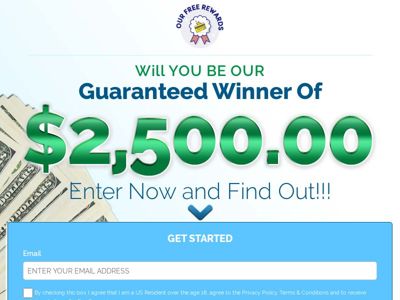 12530) [WEB+WAP] Will YOU BE OUR Guaranteed Winner - US - CPL