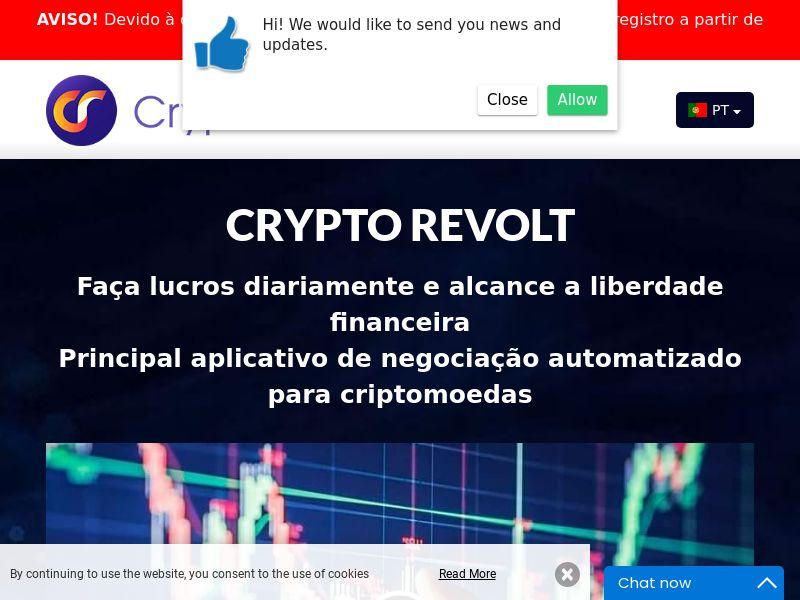 Crypto Revolt Portuguese 2143