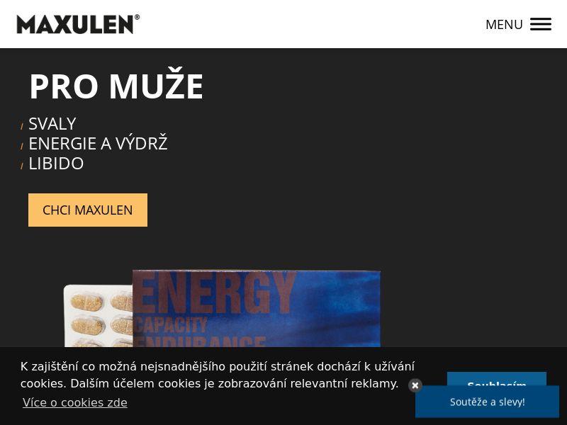 Maxulen - CZ (CZ), [CPA]