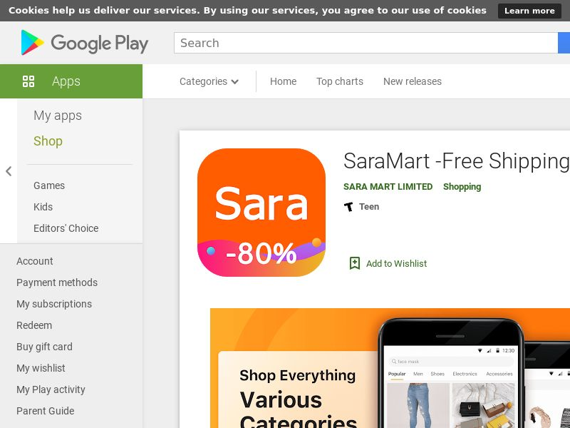 Tier1-Android-Saramart-A/B testing 2(Purchase)