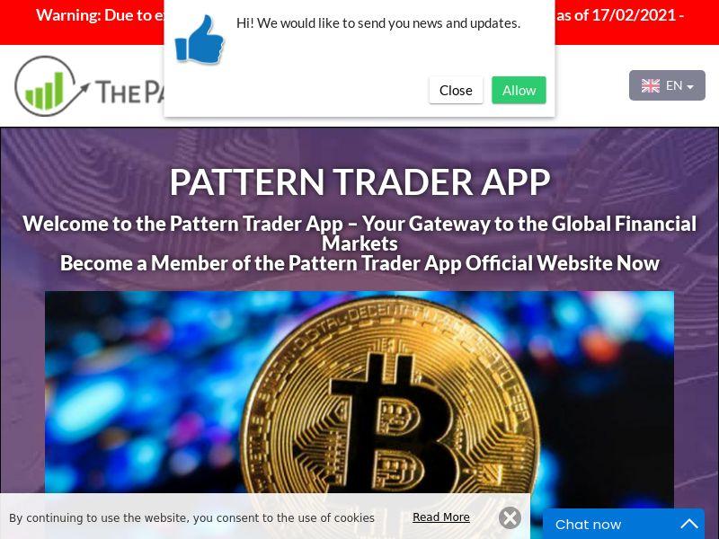 Pattern Trader App Spanish 2537