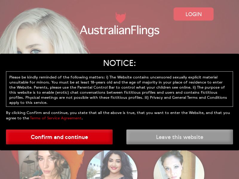 AU - australianflings.com - CPL DOI - WEB/TAB/MOB - EMAIL ONLY (private)