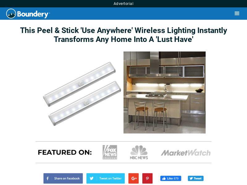 LUMN8 - Motion Glo LED Light Bar - Email