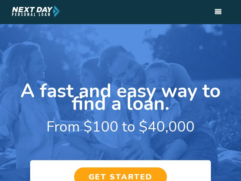 US - Next Day Personal Loan