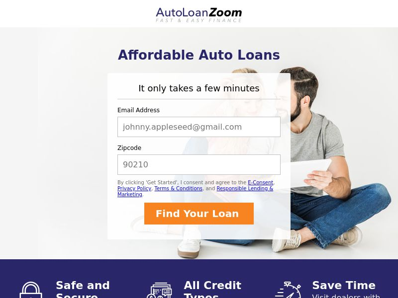 USA - AutoLoanZoom - Email Only