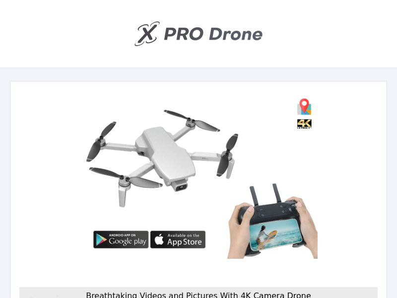 XproDrone - 4k Drone - CPA - [INTERNATIONAL]