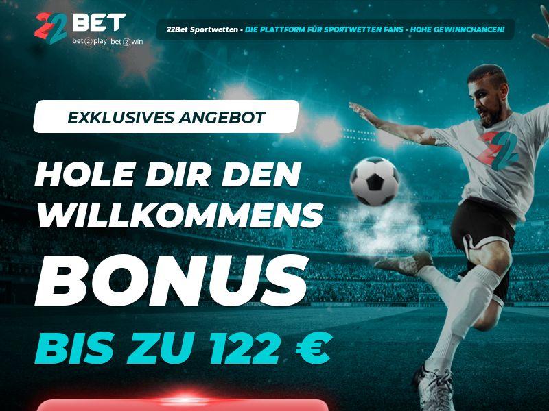 22 Bet - Sports - IT, DE - (CPA)