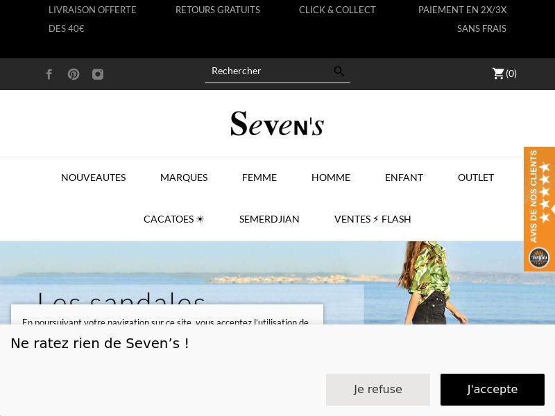 Boutique Seven's - FR (FR), [CPS]