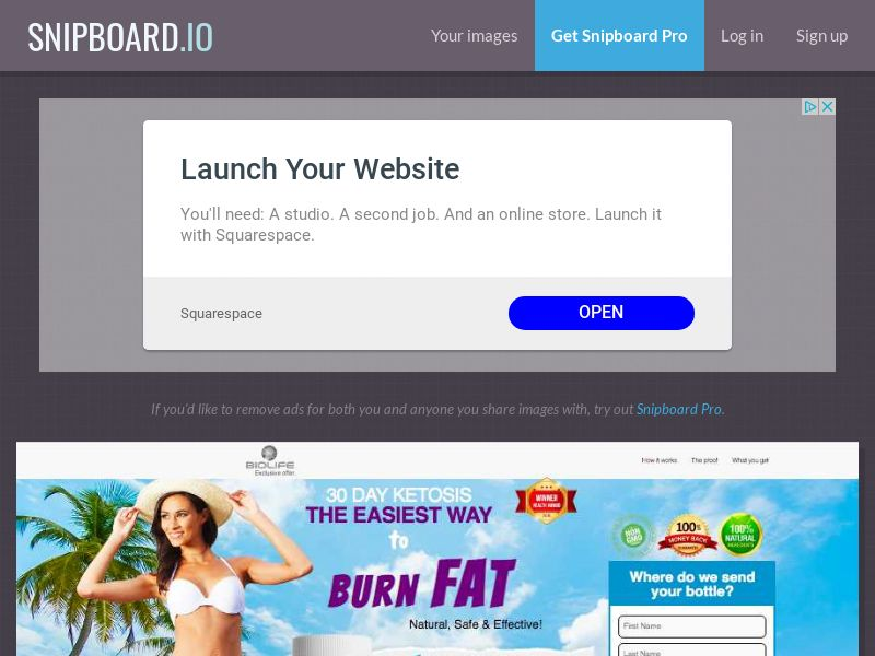 Nutra - BioLife Keto Cleanse IT - 2 Step CC Submit