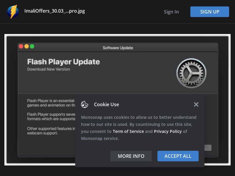 Multiple GEOs - Geo Group 1 - Mac OS - Flash Player Update - Safari - Desktop