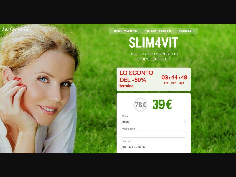 Slim4vit - CPS - IT - Nutra - Responsive