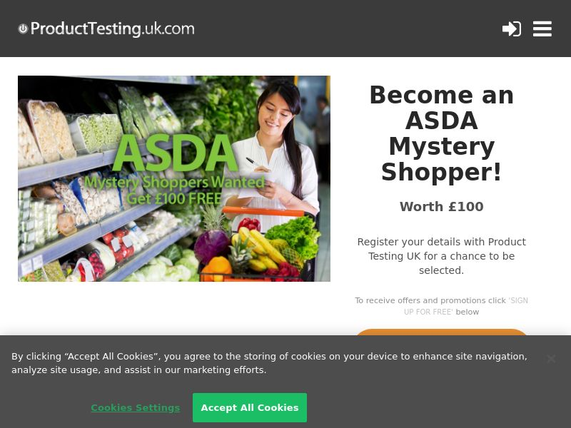 Email Submit - ASDA Mystery Shopper - SOI (UK)