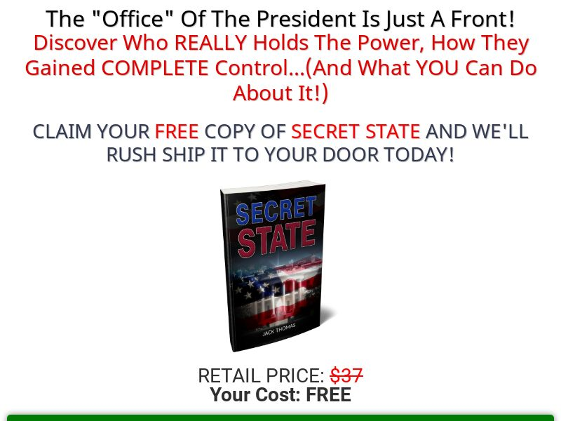 Secret State [US] (Email,Native,Social,Banner,Search) - CPA