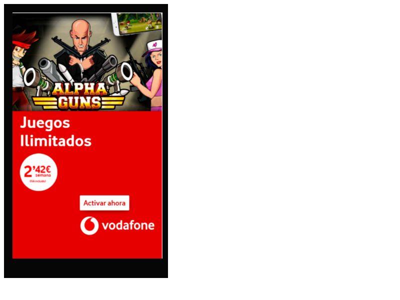Alphaguns Vodafone