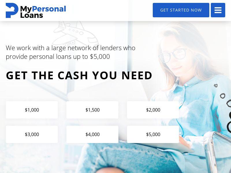 MyPersonalLoans.com - Personal Loans