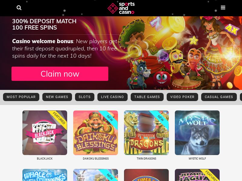 Sport and casino CPA 4 countries