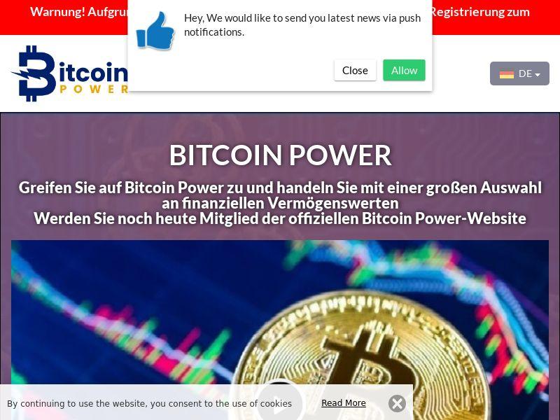 Bitcoin Power German 3664