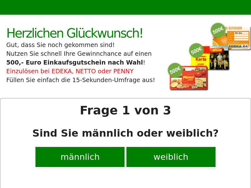 9841) [WEB+WAP] Supermarket vouchers Netto - DE - CPL