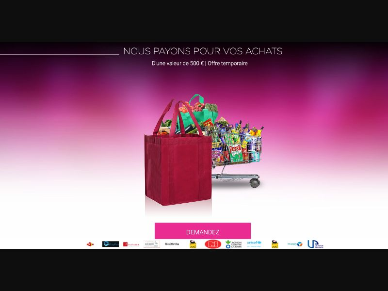 Carrefour - CPL SOI - FR - Sweepstakes - Responsive