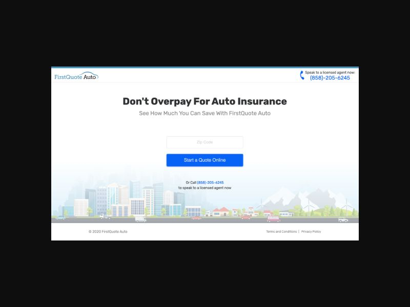 First Quote Auto Insurance (US) CPL