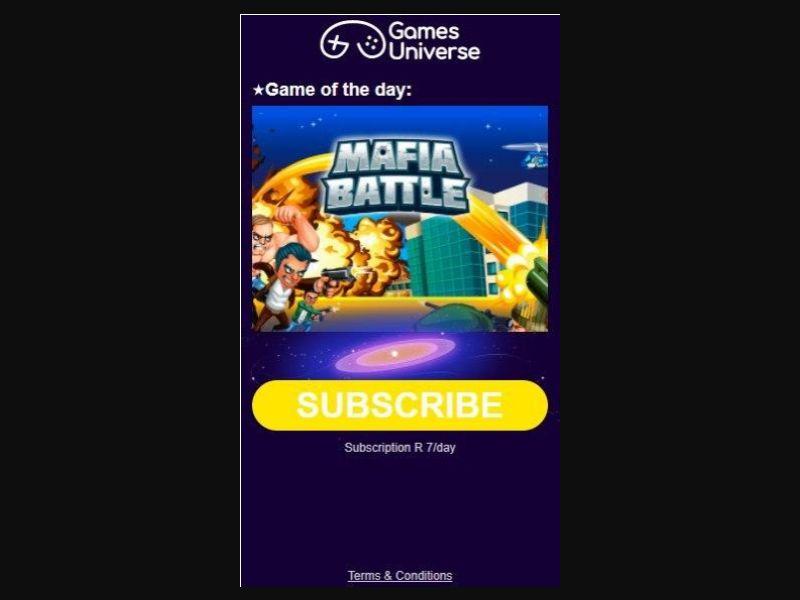 Games Universe CellC (ZA)