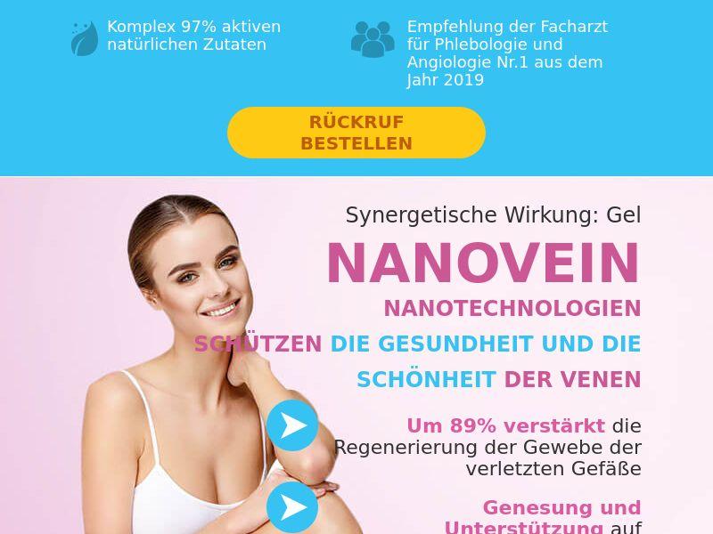NANOVEIN DE - varicose vein cream
