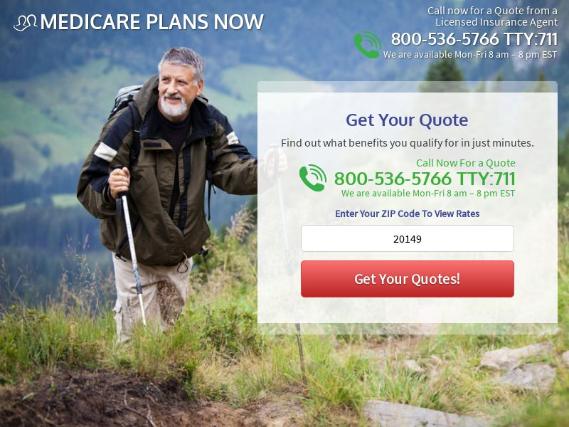Medicare Plans Now [US] (Email,Native,PPC,Social) - CPL