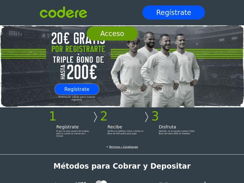 Codere Sports - Sports - ES - (CPA)