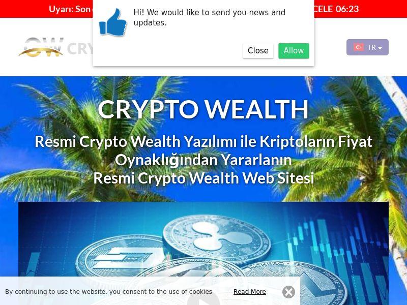 Crypto Wealth Turkish 3921