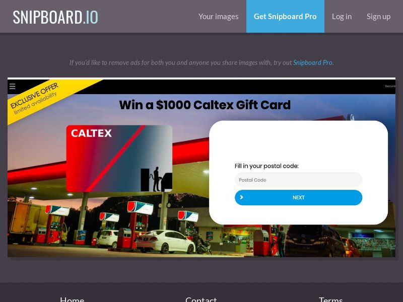 36899 - AU - YouSweeps - Win a Caltex Giftcard - SOI