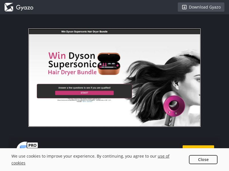 Dyson Hair Dryer Voucher (NL) (CPL)