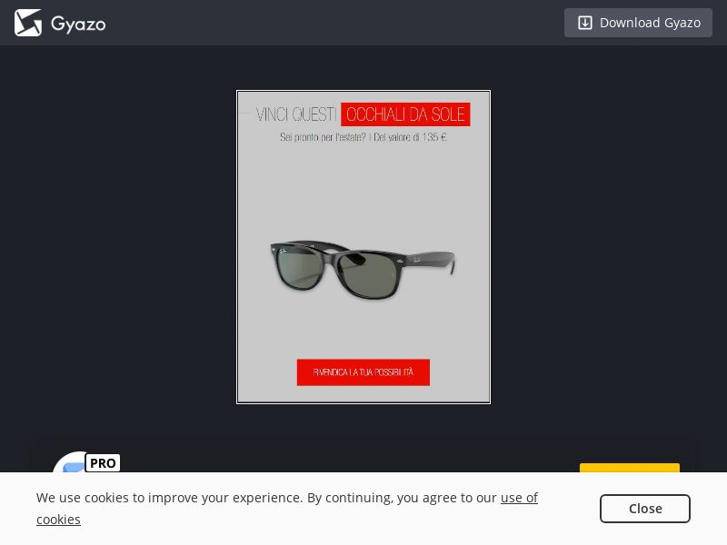 Win Ray-Ban (IT) (CPL) (Incent)