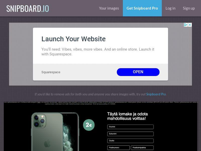 BigEntry - iPhone 11 Pro v4 (Static LP) FI - CC Submit