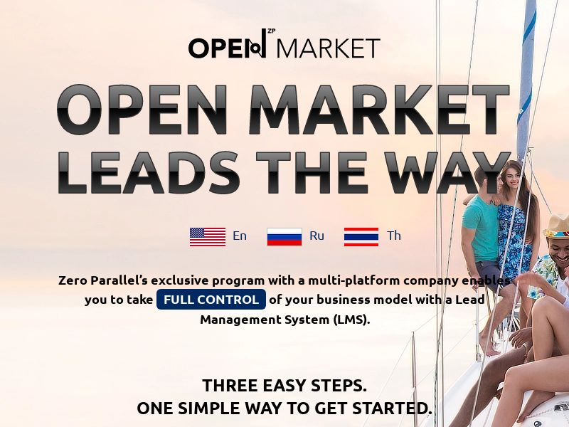 OPEN MARKET - Free Lead Management System