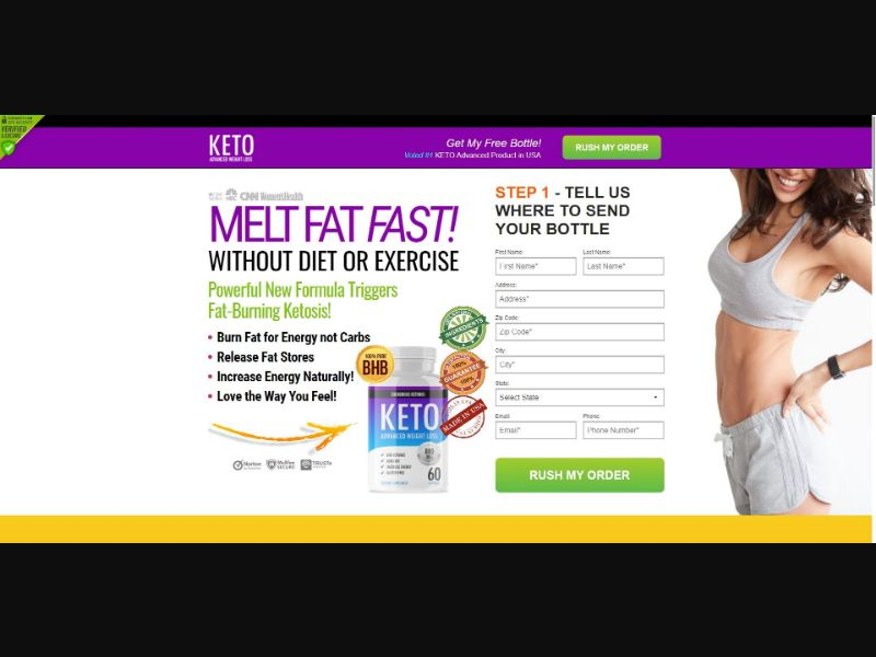 Exogenous Ketones Keto Advanced - Diet & Weight Loss - SS - [US]
