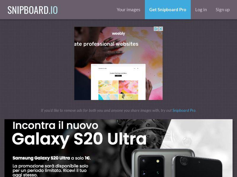 SteadyBusiness - Samsung Galaxy S20 Ultra LP43 IT - CC Submit