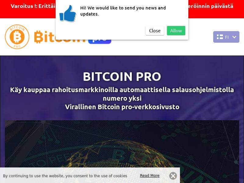 Bitcoin pro Finnish 2313