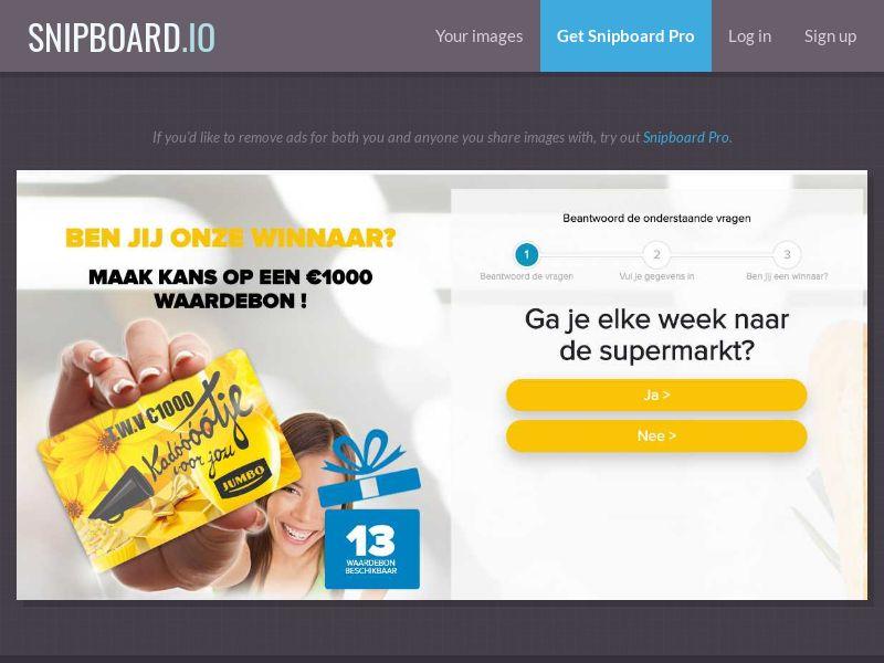 39394 - NL - OnlineWinAction - Jumbo 1K (With Prelander) - SOI 21+