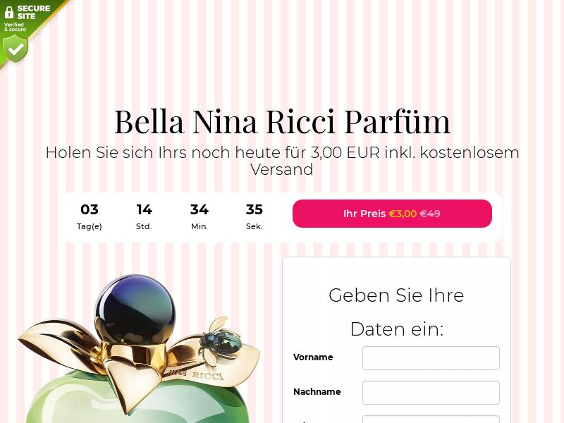 Bella Nina Ricci Perfume - DE