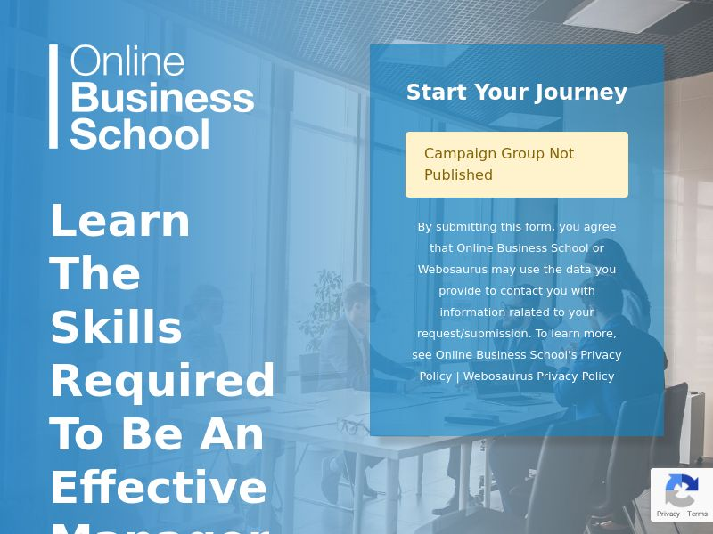 OBS Online Business School - Business Management CPL [UK]