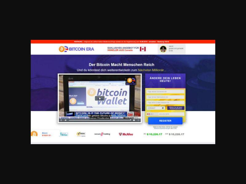 Bitcoin Era DE (DE,CH,AT)