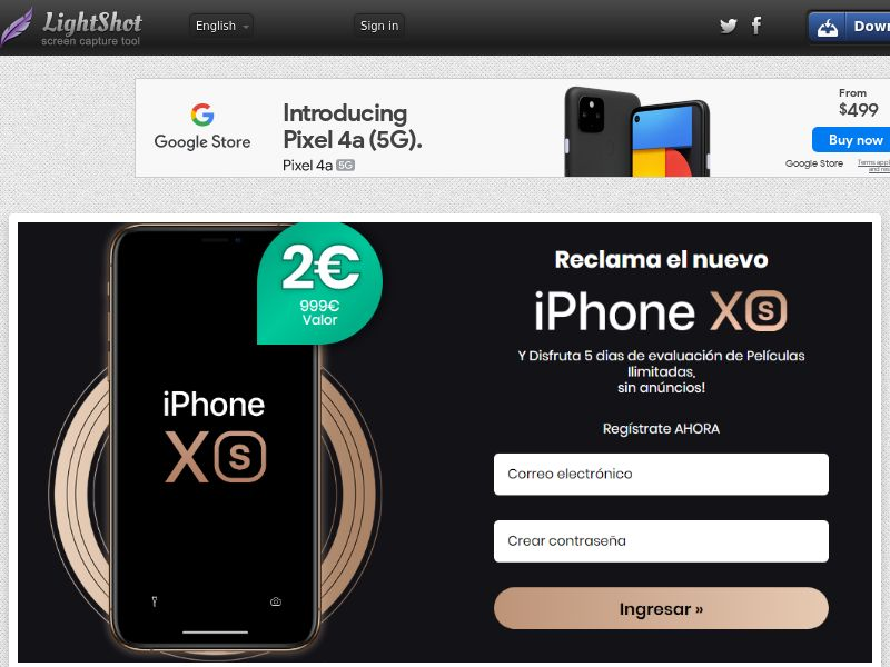Combo Popcorn Win iPhone Xs Black Bonus (Sweepstakes) (CC Trial) - Dominican Republic [DO]