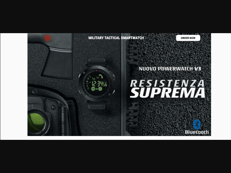 Power Watch - CC Submit - IT - E-commerce - Responsive