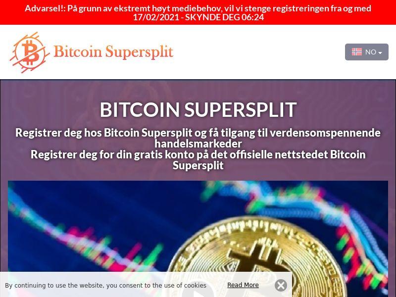 Bitcoin Supersplit Norwegian 3613