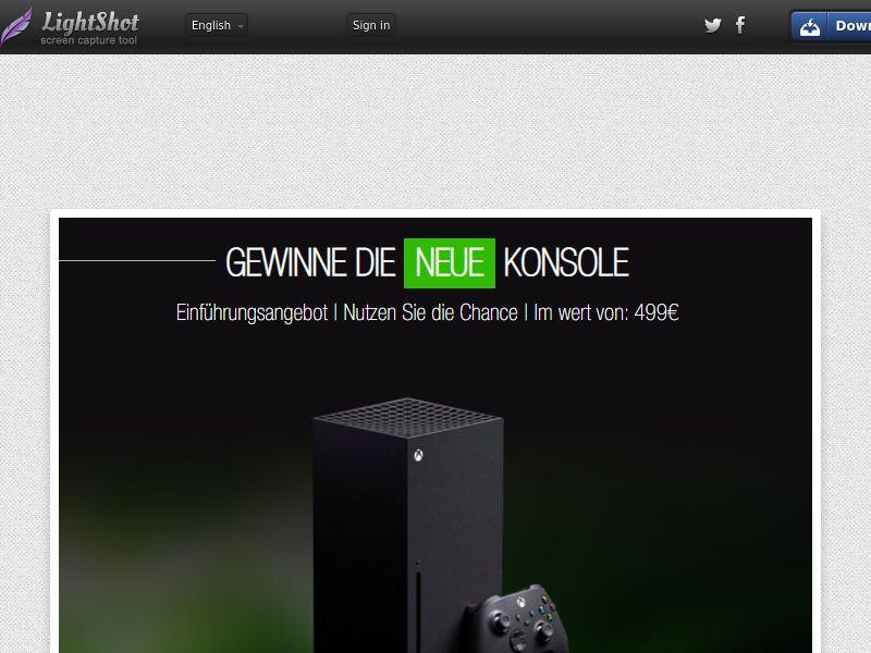 Portal Leads - Xbox (DE) (CPL) (Personal Approval)