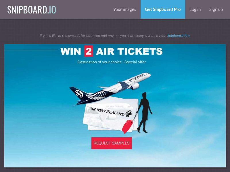 37798 - NZ - LeadsWinner - Air New Zealand - SOI